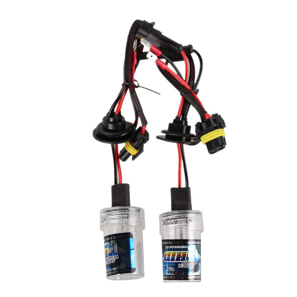 2 ampoules h7 35w 55w pour kit xenon hid h7 4300k 6000k 8000k koolza tout pour votre